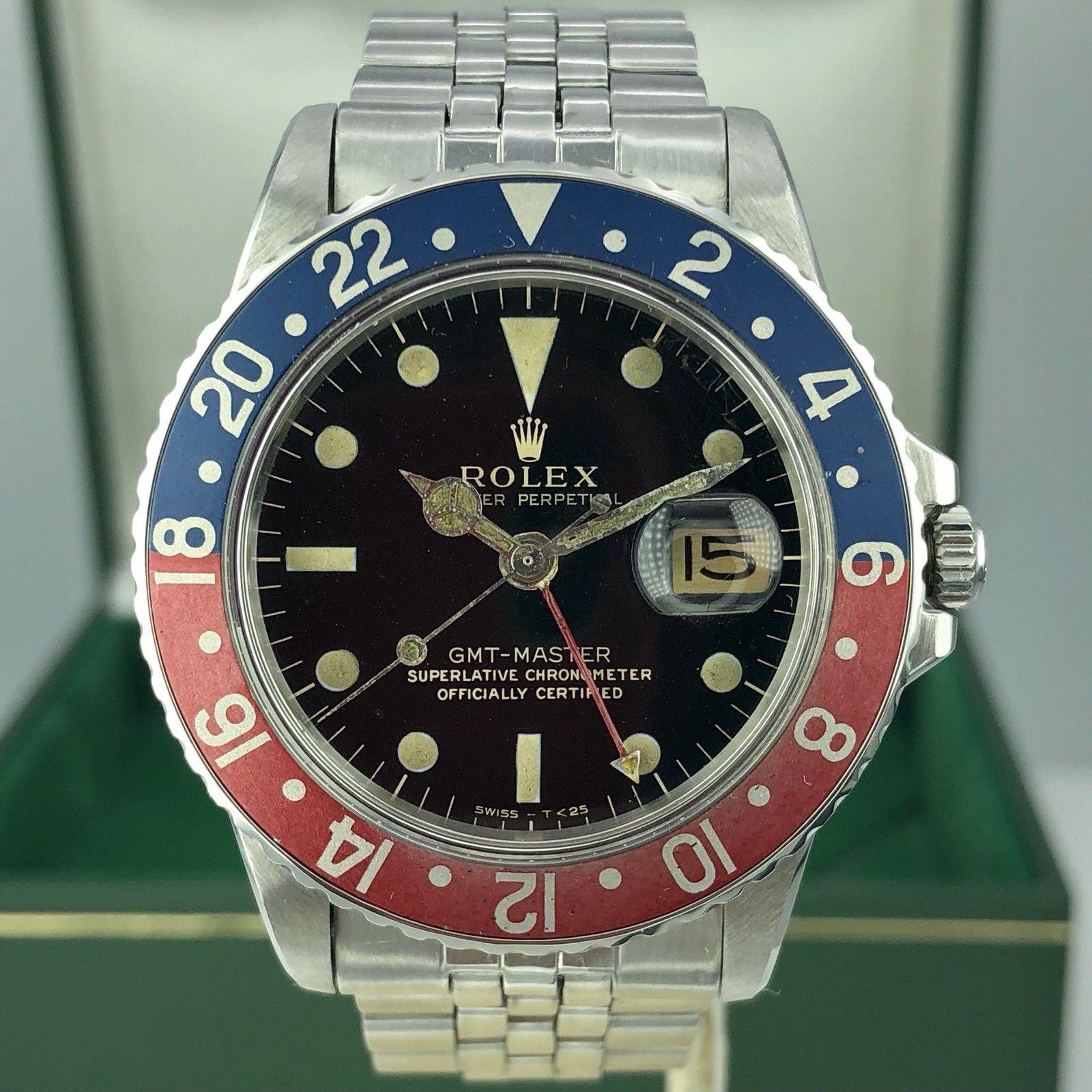 Vintage Rolex GMT Master 1675 ...
