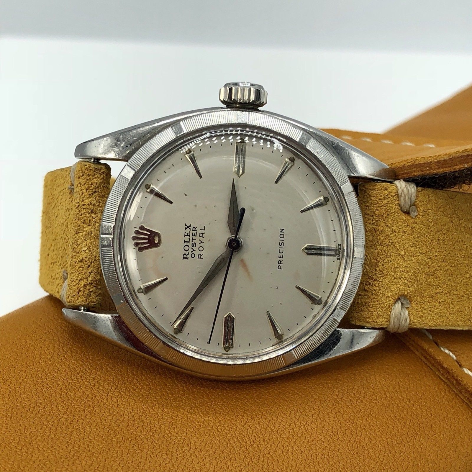 vintage rolex oyster precision royal 6427 cal 1215 manual wind 1961 rh awadwatches com Rolex Watches for Men rolex daytona watch user manual