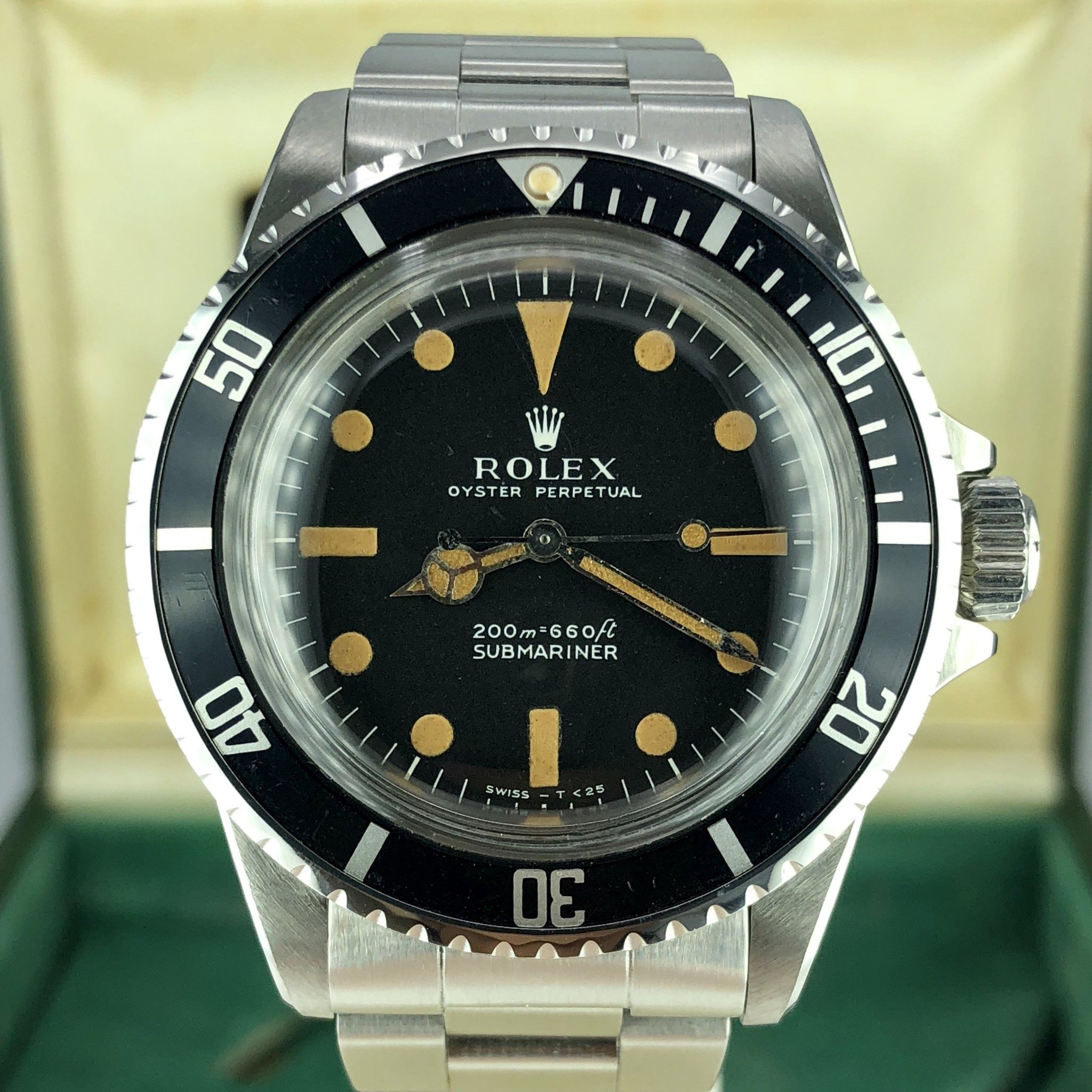 ea1981b2a72f 1970 Vintage Rolex 5513 Submariner Pumpkin Meters First Dial With ...